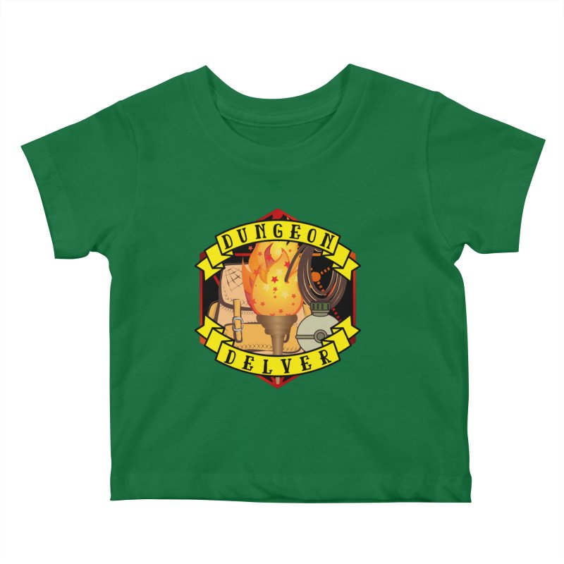 Dungeon Delver Kids Baby T-Shirt by RandomEncounterProductions's Artist Shop