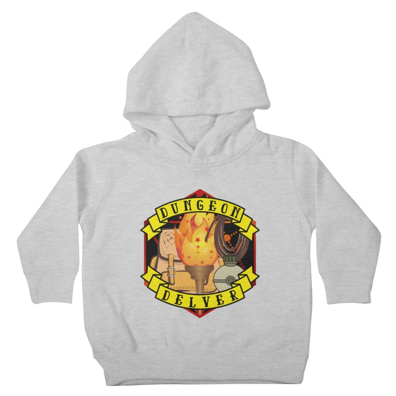 Dungeon Delver Kids Toddler Pullover Hoody by RandomEncounterProductions's Artist Shop