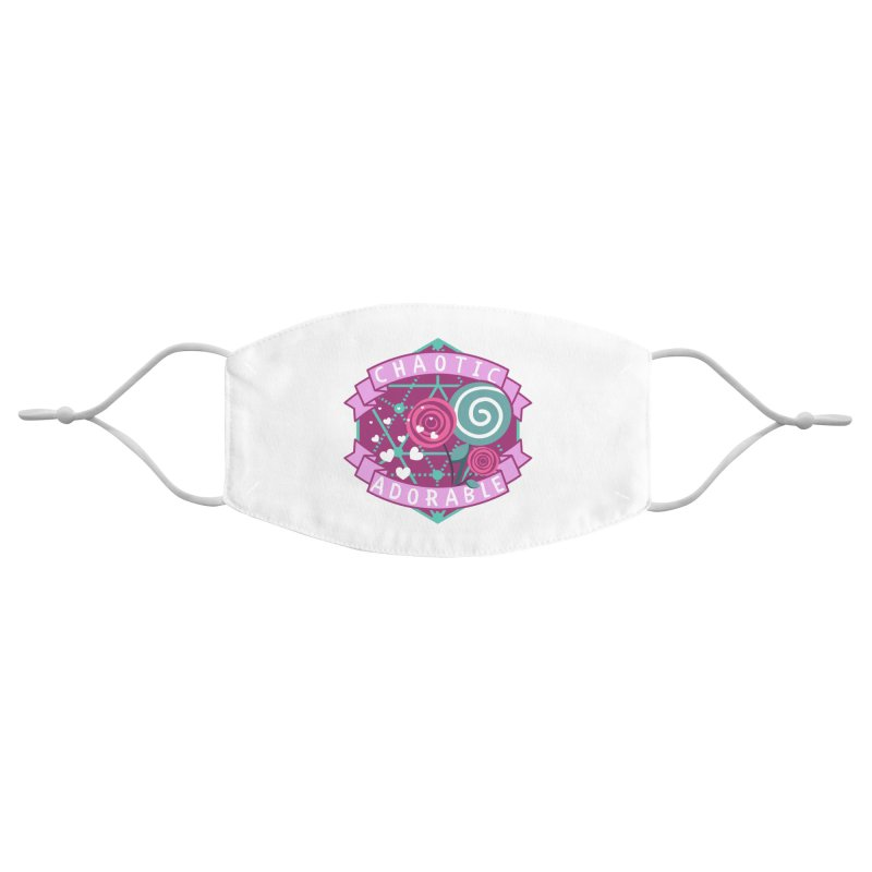 Chaotic Adorable Accessories Face Mask by RandomEncounterProductions's Artist Shop