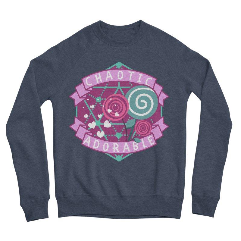 Chaotic Adorable Women's Sponge Fleece Sweatshirt by RandomEncounterProductions's Artist Shop