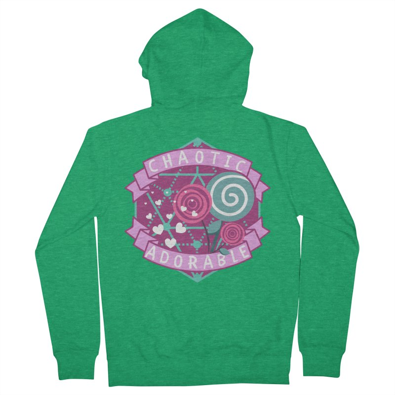 Chaotic Adorable Men's Zip-Up Hoody by RandomEncounterProductions's Artist Shop