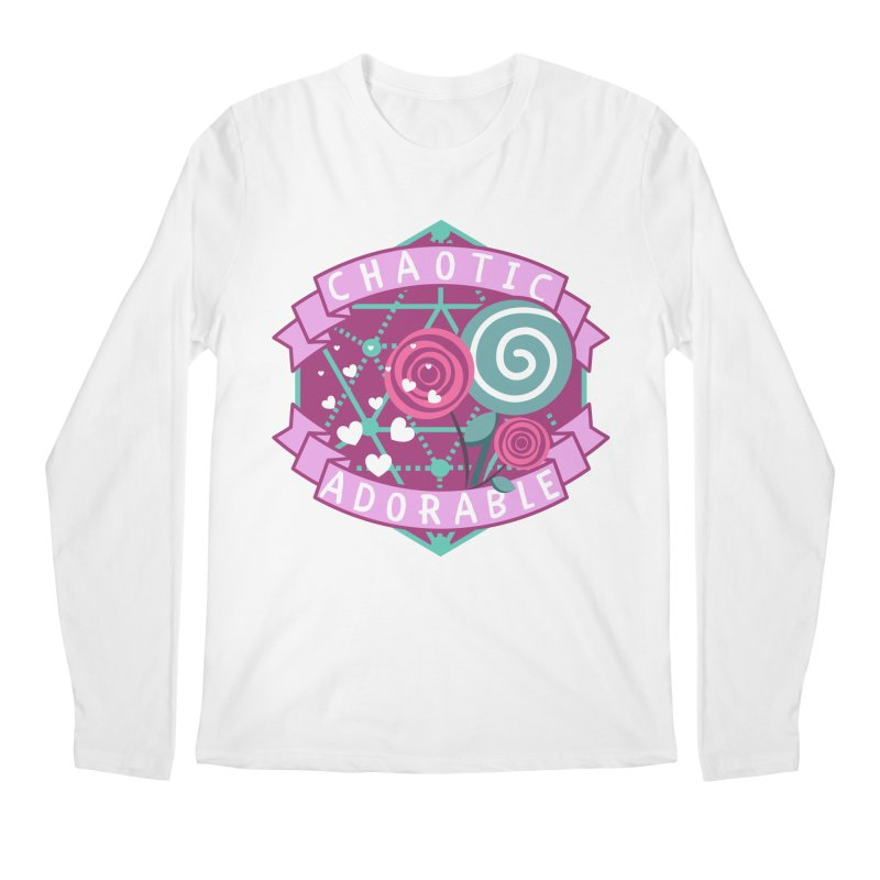 Chaotic Adorable Men's Regular Longsleeve T-Shirt by RandomEncounterProductions's Artist Shop