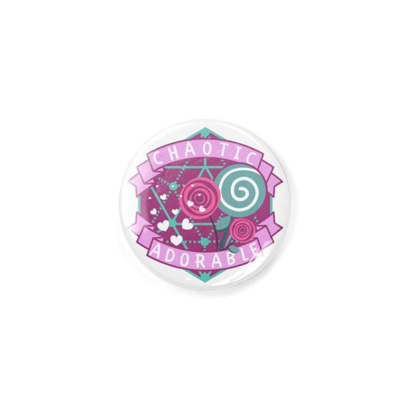 Chaotic Adorable Accessories Button by RandomEncounterProductions's Artist Shop