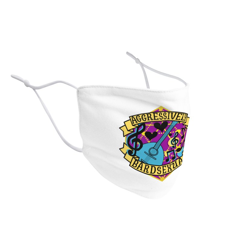 Aggressively Bardsexual Accessories Face Mask by RandomEncounterProductions's Artist Shop