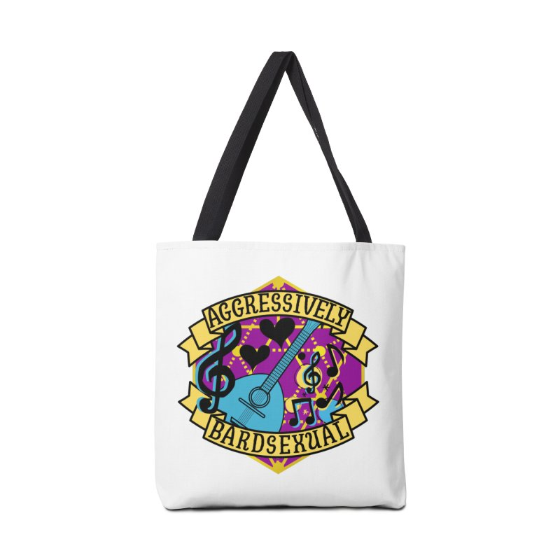 Aggressively Bardsexual Accessories Bag by RandomEncounterProductions's Artist Shop