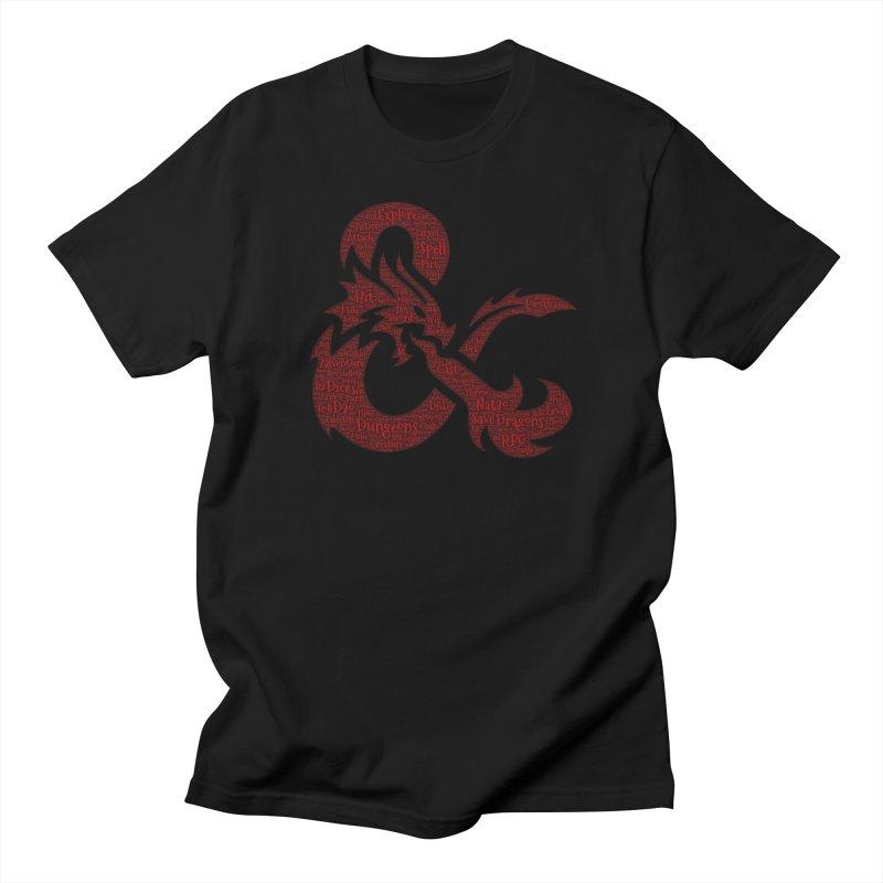 Ampersand Adventures Men's T-Shirt by RandomEncounterProductions's Artist Shop