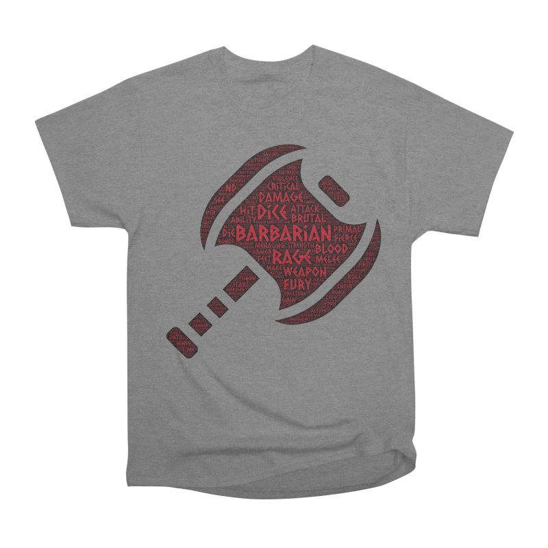 "Power Word ""Cloud"" -- Barbarian Women's T-Shirt by RandomEncounterProductions's Artist Shop"