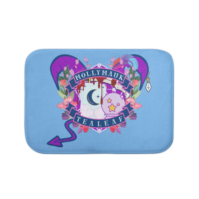 Mollymauk Tealeaf Home Bath Mat by RandomEncounterProductions's Artist Shop