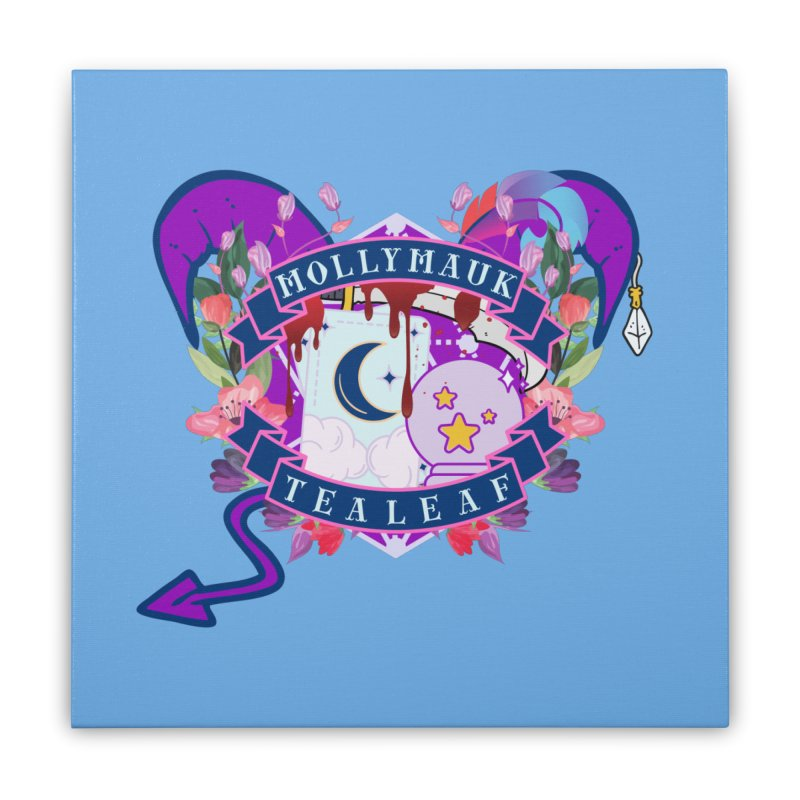 Mollymauk Tealeaf Home Stretched Canvas by RandomEncounterProductions's Artist Shop