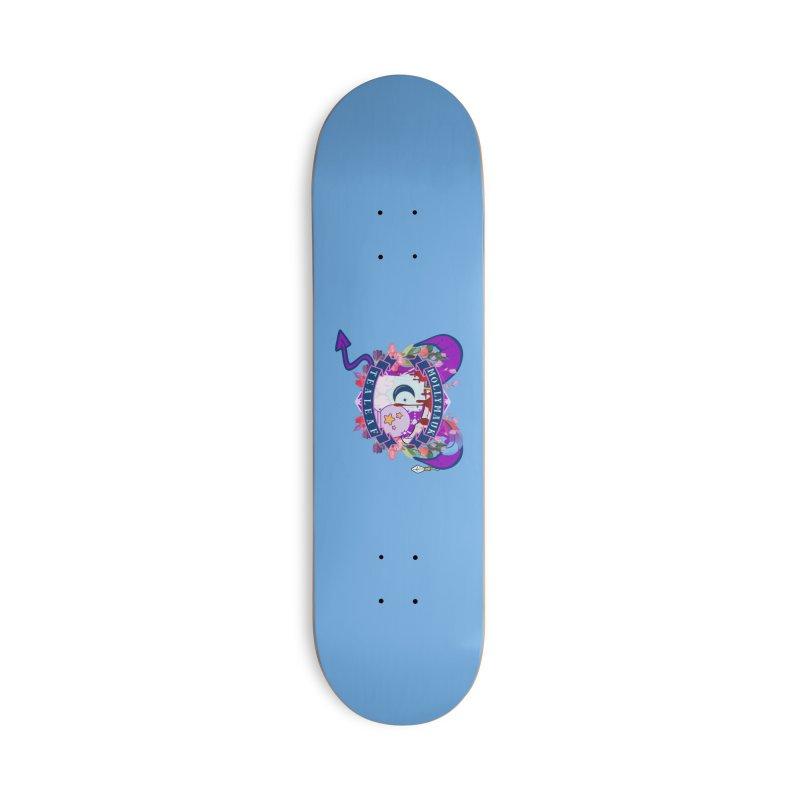 Mollymauk Tealeaf Accessories Skateboard by RandomEncounterProductions's Artist Shop