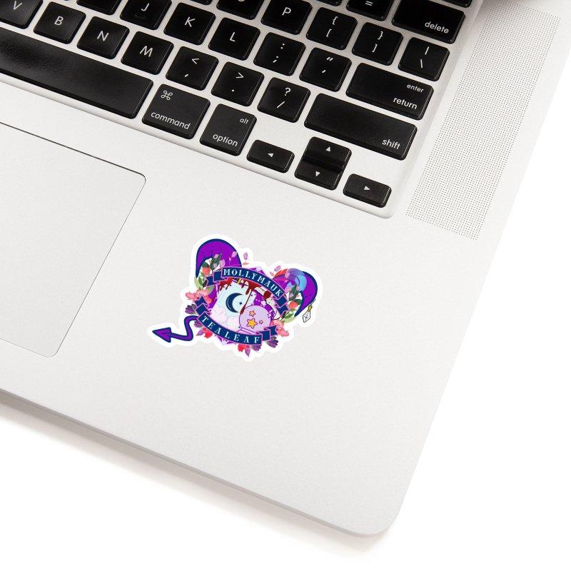 Mollymauk Tealeaf Accessories Sticker by RandomEncounterProductions's Artist Shop