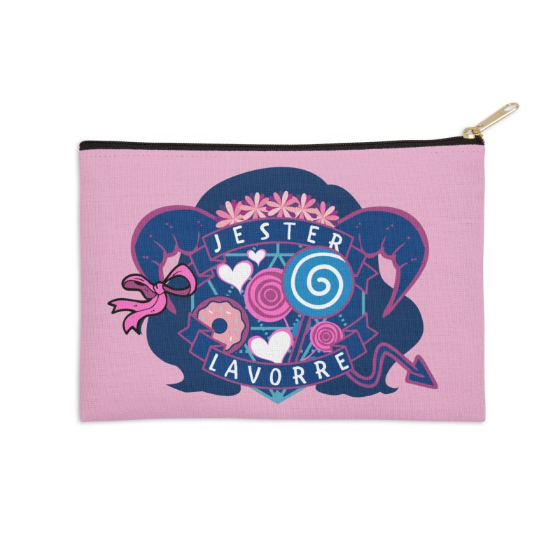 Jester Lavorre Accessories Zip Pouch by RandomEncounterProductions's Artist Shop