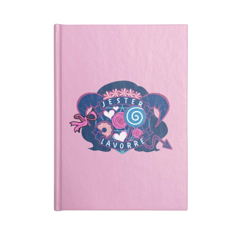 Jester Lavorre Accessories Notebook by RandomEncounterProductions's Artist Shop