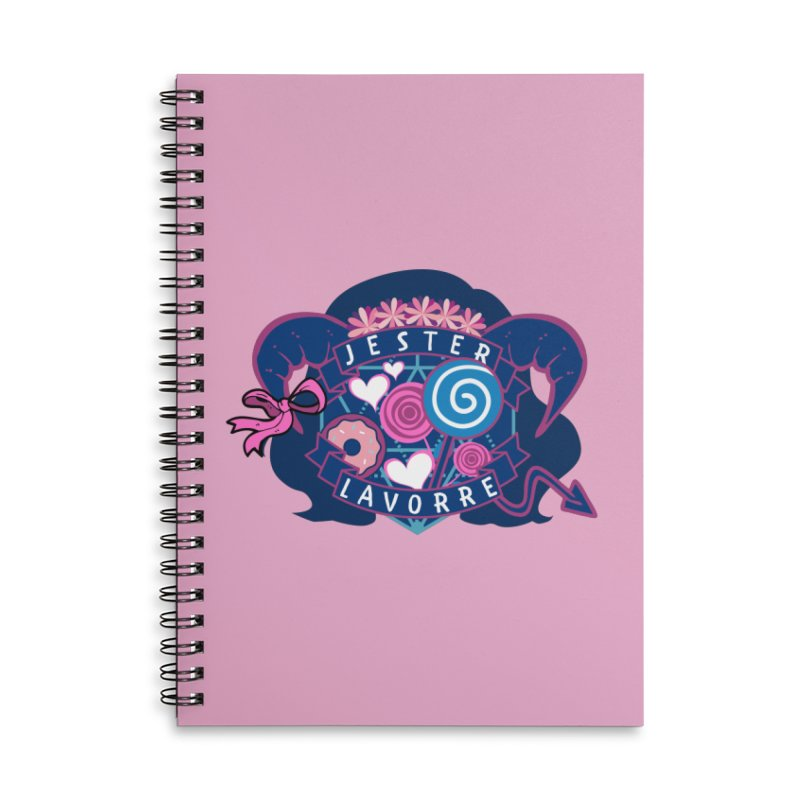 Jester Lavorre Accessories Notebook by RandomEncounterProductions's Artist Shop