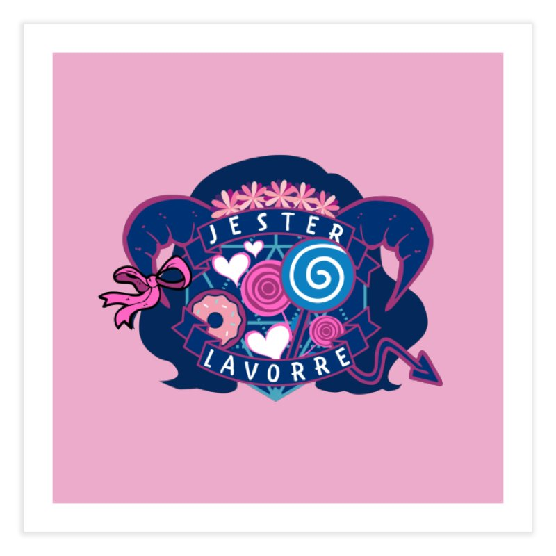 Jester Lavorre Home Fine Art Print by RandomEncounterProductions's Artist Shop