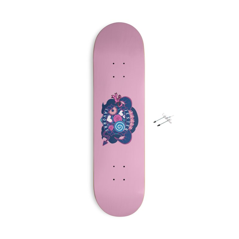 Jester Lavorre Accessories Skateboard by RandomEncounterProductions's Artist Shop