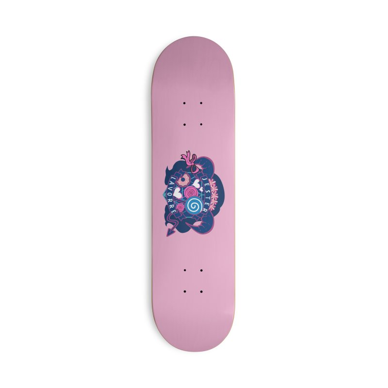 Jester Lavorre Accessories Skateboard by RandomEncounterProductions's Artist Shop