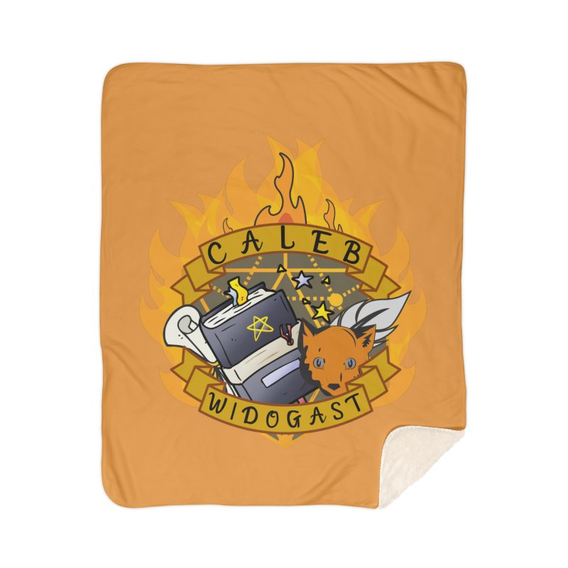 Caleb Widogast Home Blanket by RandomEncounterProductions's Artist Shop