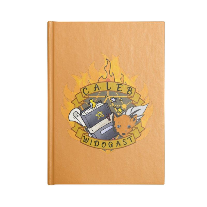 Caleb Widogast Accessories Notebook by RandomEncounterProductions's Artist Shop