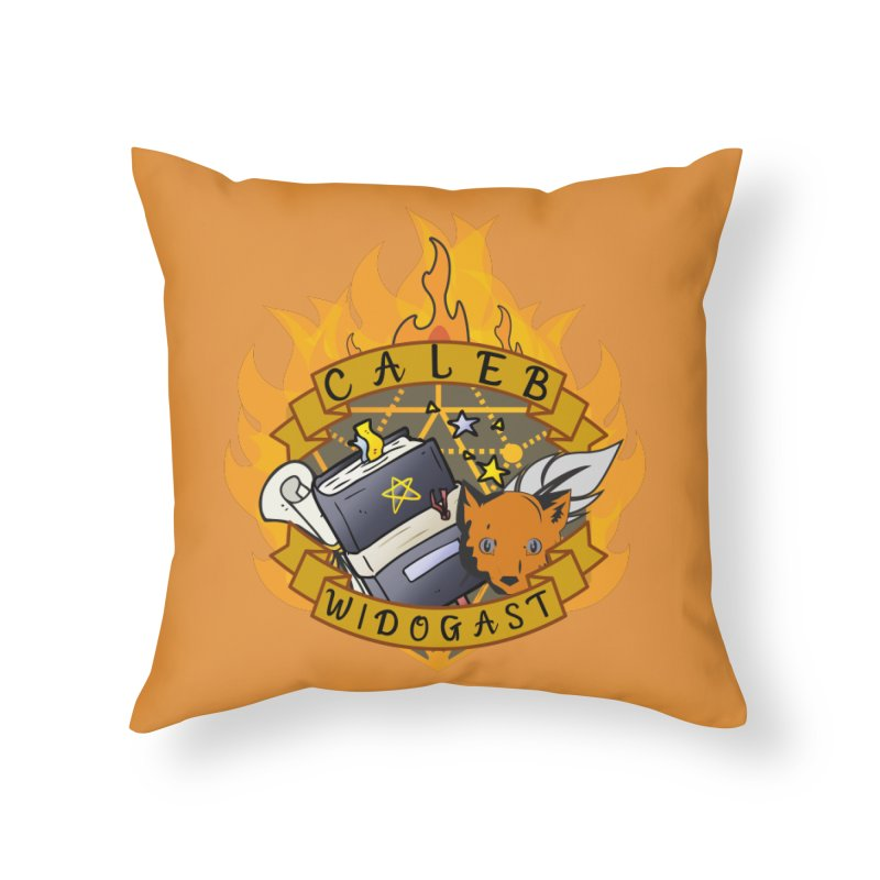 Caleb Widogast Home Throw Pillow by RandomEncounterProductions's Artist Shop