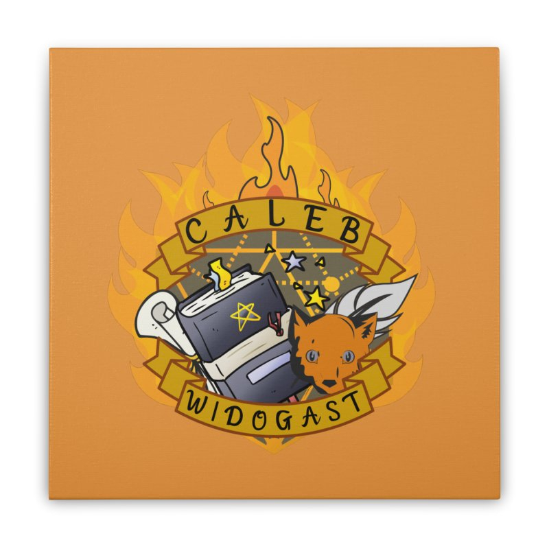 Caleb Widogast Home Stretched Canvas by RandomEncounterProductions's Artist Shop