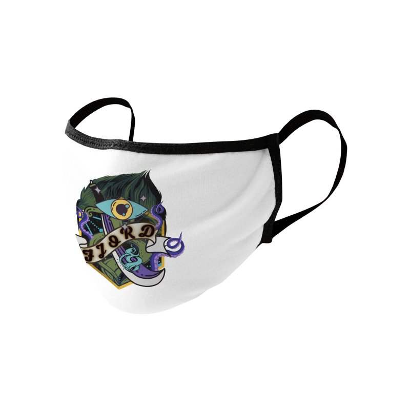 Fjord Accessories Face Mask by RandomEncounterProductions's Artist Shop