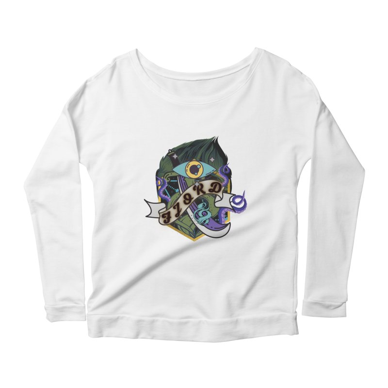 Fjord Women's Longsleeve T-Shirt by RandomEncounterProductions's Artist Shop