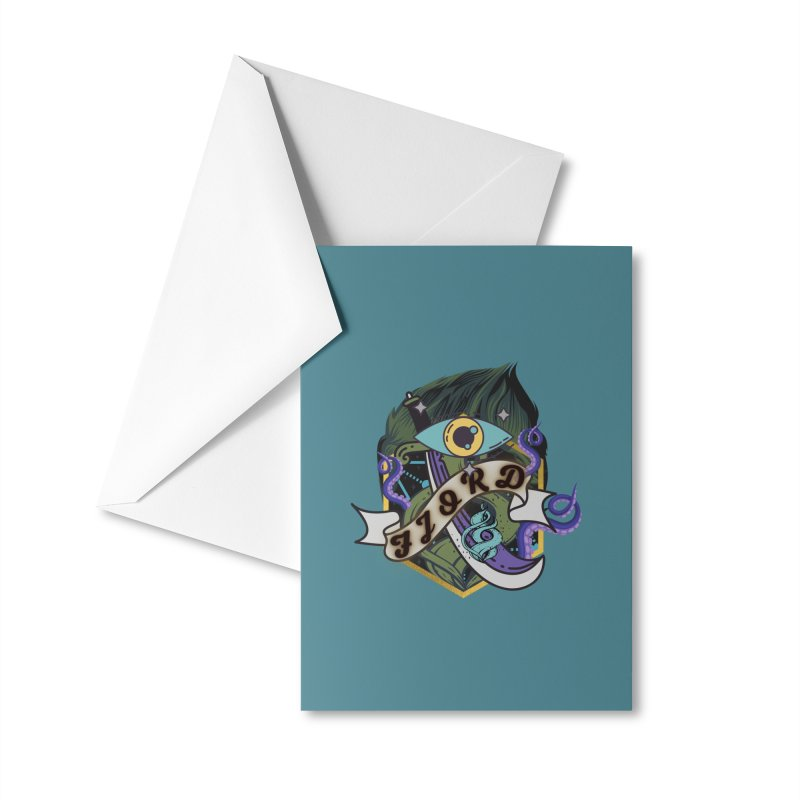 Fjord Accessories Greeting Card by RandomEncounterProductions's Artist Shop
