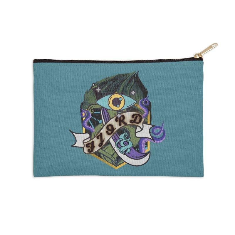 Fjord Accessories Zip Pouch by RandomEncounterProductions's Artist Shop