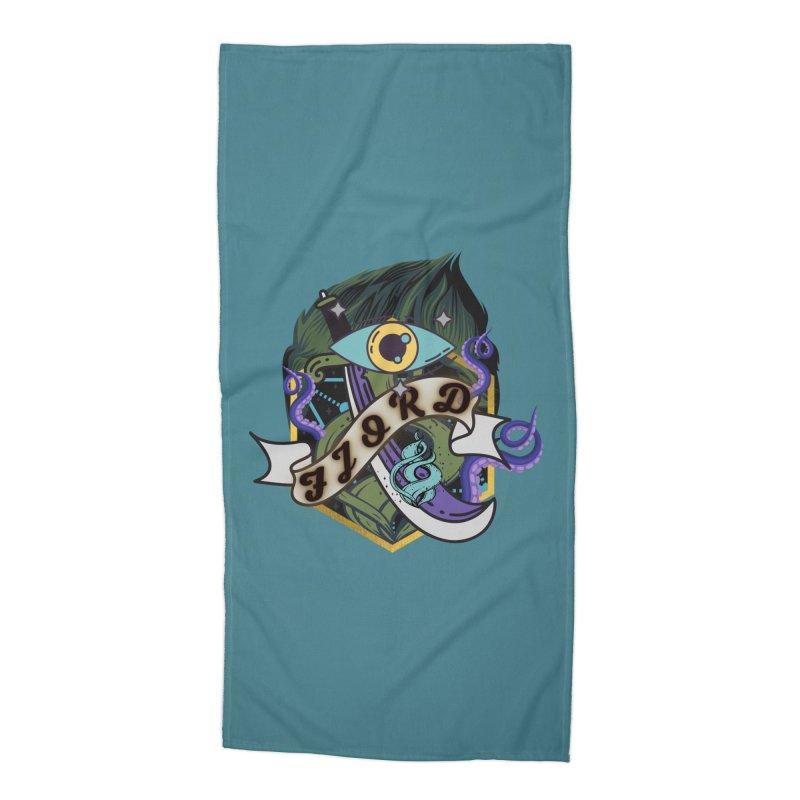 Fjord Accessories Beach Towel by RandomEncounterProductions's Artist Shop