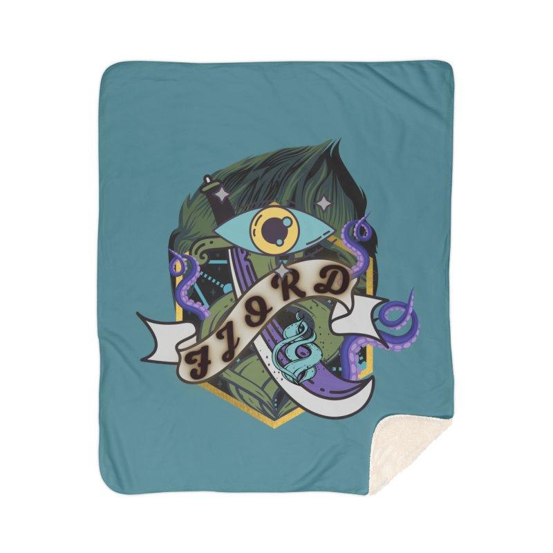 Fjord Home Blanket by RandomEncounterProductions's Artist Shop