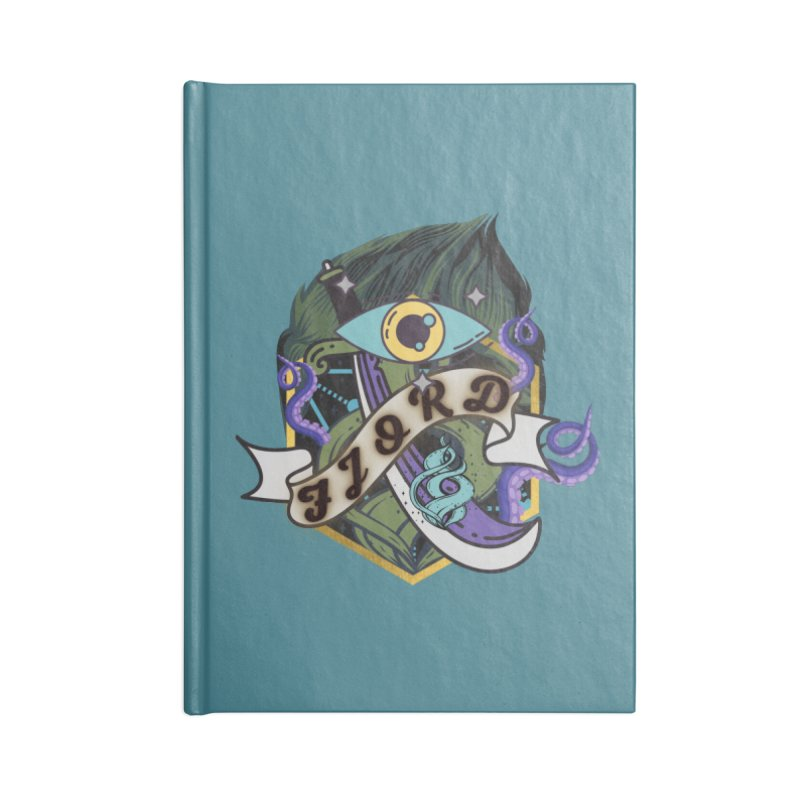 Fjord Accessories Notebook by RandomEncounterProductions's Artist Shop