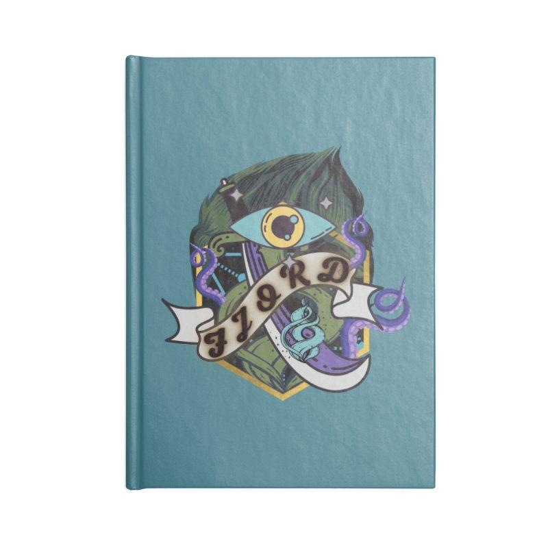 Fjord Accessories Notebook by RandomEncounterProductions's Artist Shop