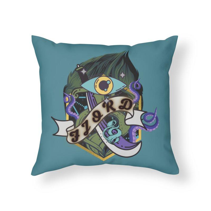 Fjord Home Throw Pillow by RandomEncounterProductions's Artist Shop