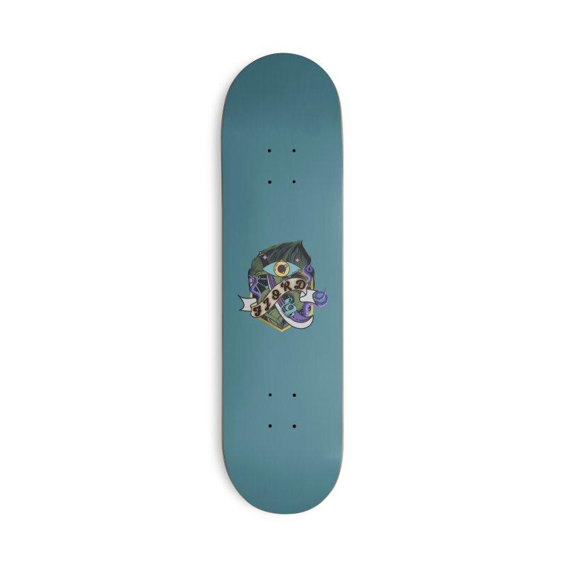 Fjord Accessories Skateboard by RandomEncounterProductions's Artist Shop