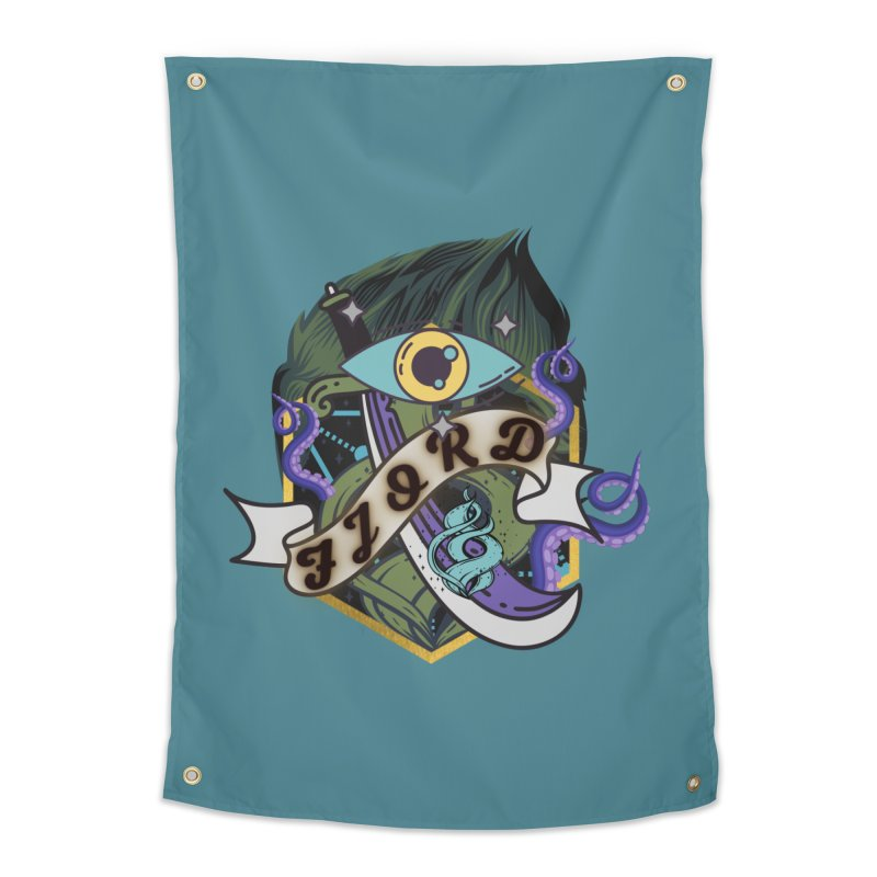 Fjord Home Tapestry by RandomEncounterProductions's Artist Shop