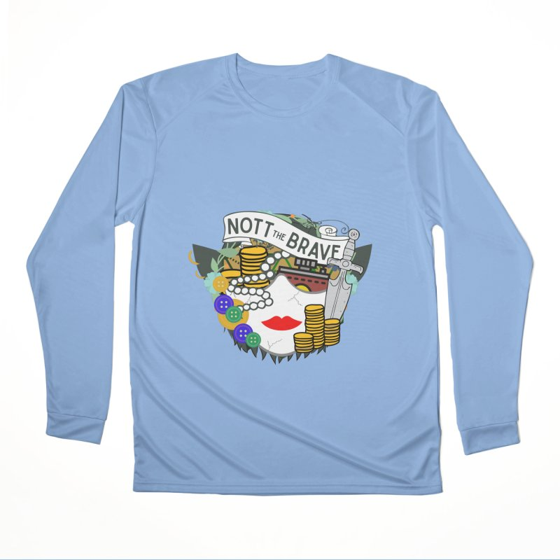 Nott The Brave Men's Longsleeve T-Shirt by RandomEncounterProductions's Artist Shop