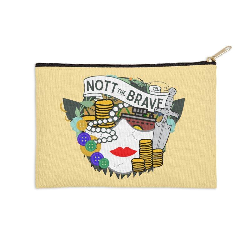 Nott The Brave Accessories Zip Pouch by RandomEncounterProductions's Artist Shop