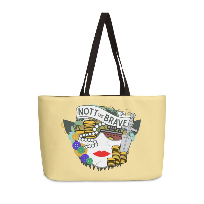 Nott The Brave Accessories Bag by RandomEncounterProductions's Artist Shop