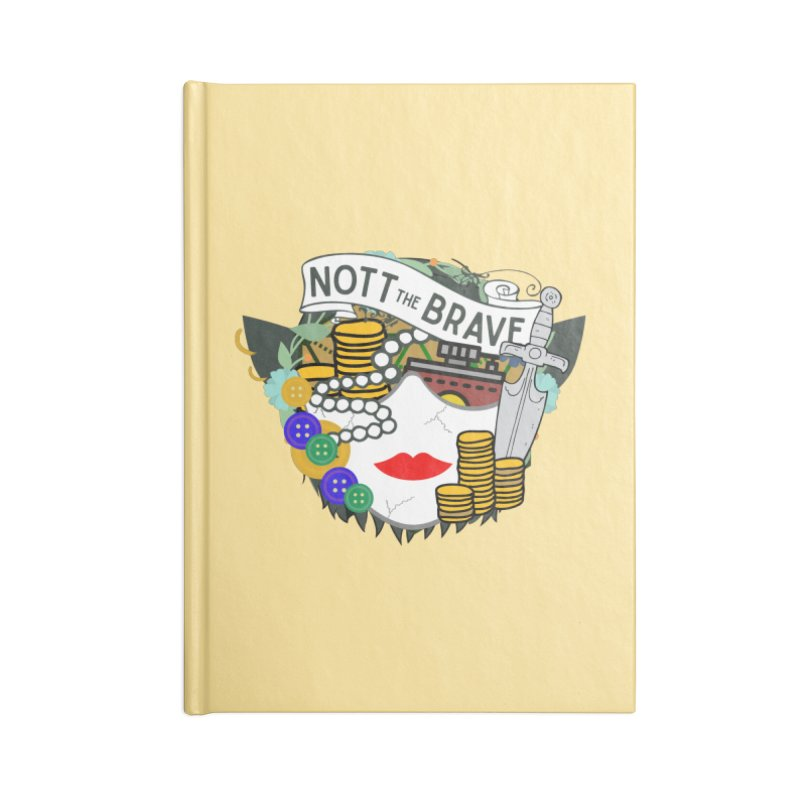 Nott The Brave Accessories Notebook by RandomEncounterProductions's Artist Shop