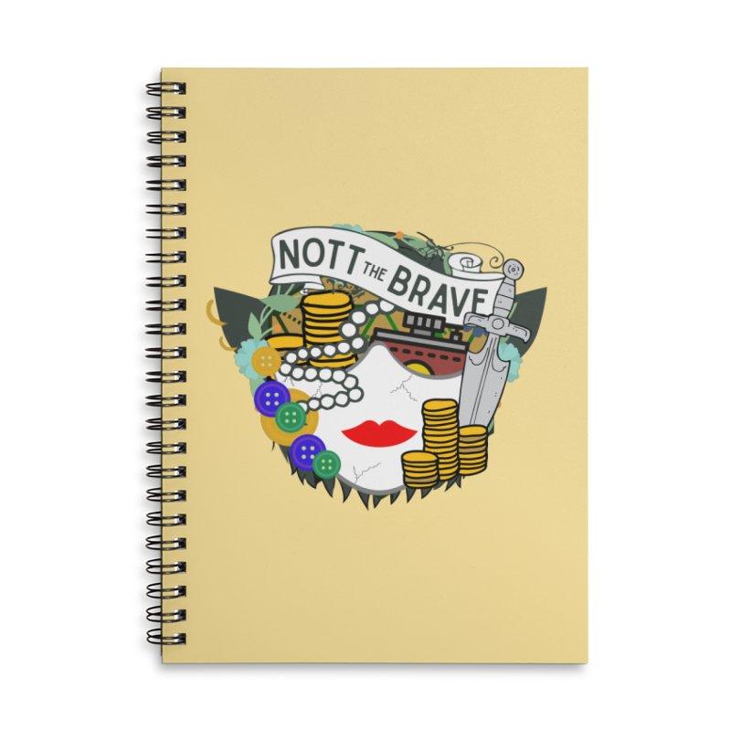 Nott The Brave Accessories Notebook by RandomEncounterProductions's Artist Shop
