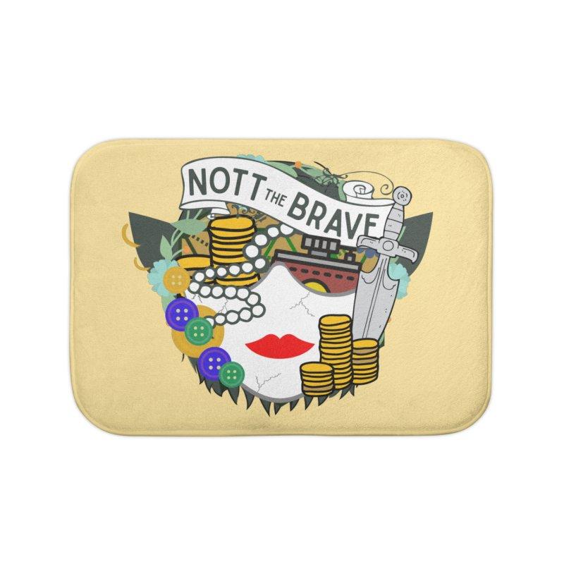Nott The Brave Home Bath Mat by RandomEncounterProductions's Artist Shop