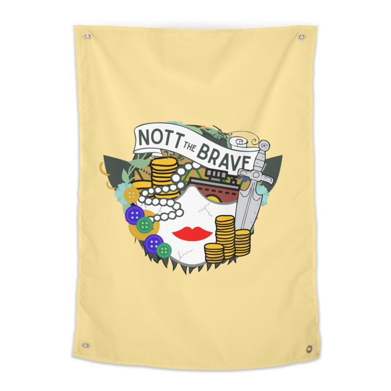 Nott The Brave Home Tapestry by RandomEncounterProductions's Artist Shop