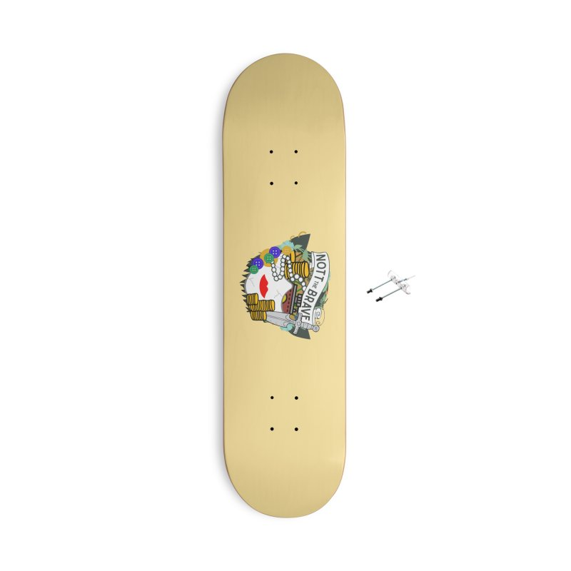Nott The Brave Accessories Skateboard by RandomEncounterProductions's Artist Shop