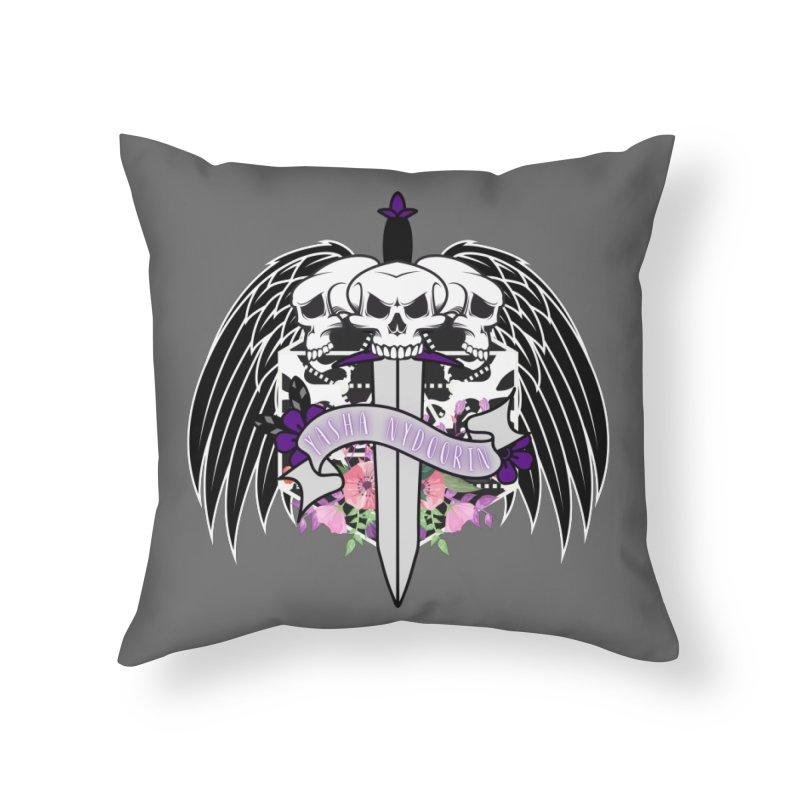 Yasha Nydorin Home Throw Pillow by RandomEncounterProductions's Artist Shop