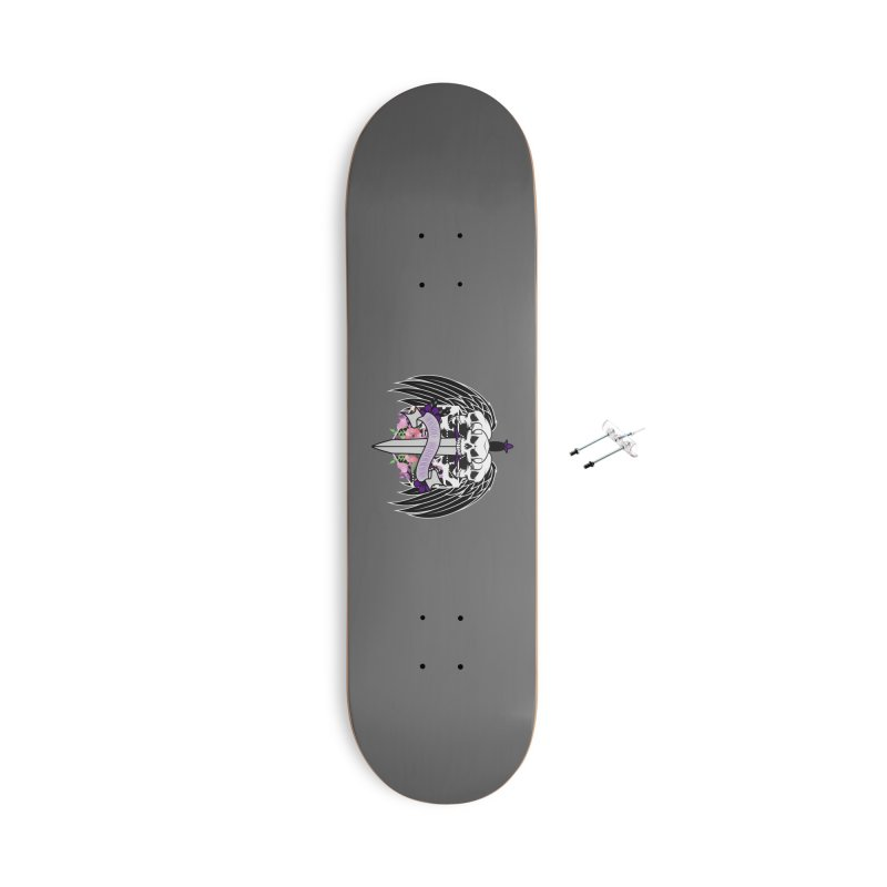 Yasha Nydorin Accessories Skateboard by RandomEncounterProductions's Artist Shop