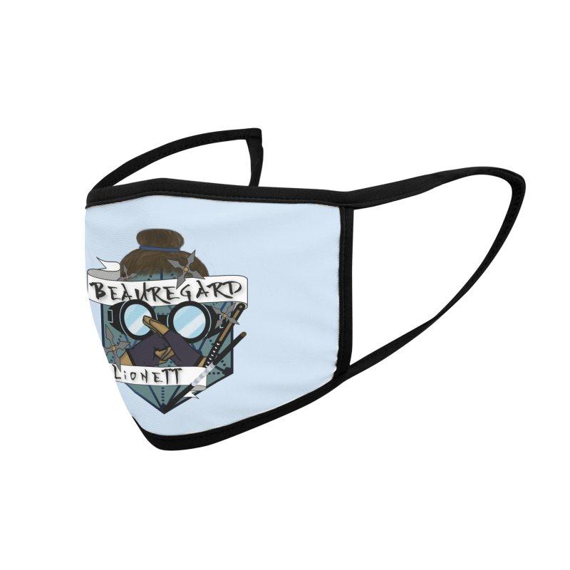 Beauregard Lionett Accessories Face Mask by RandomEncounterProductions's Artist Shop