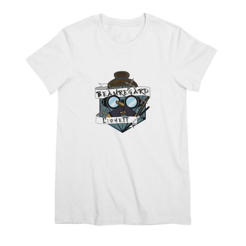 Beauregard Lionett Women's T-Shirt by RandomEncounterProductions's Artist Shop