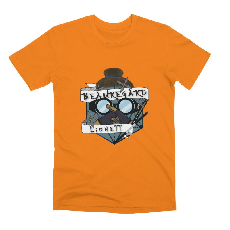Beauregard Lionett Men's T-Shirt by RandomEncounterProductions's Artist Shop