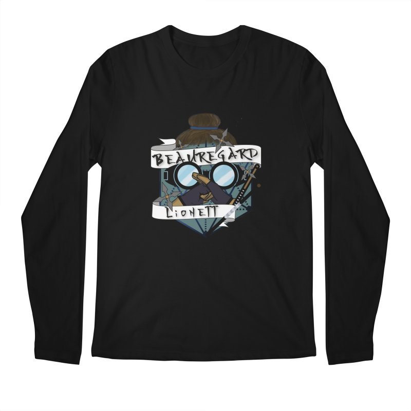 Beauregard Lionett Men's Longsleeve T-Shirt by RandomEncounterProductions's Artist Shop